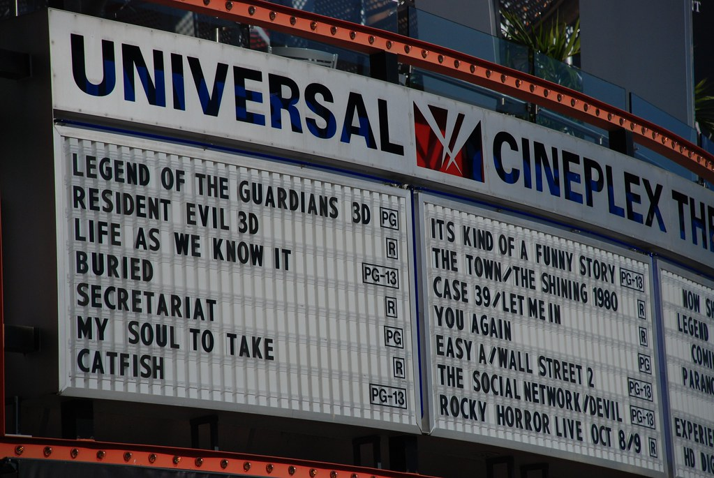 Now Showing | Movies playing at Universal City Walk. | Joe ...