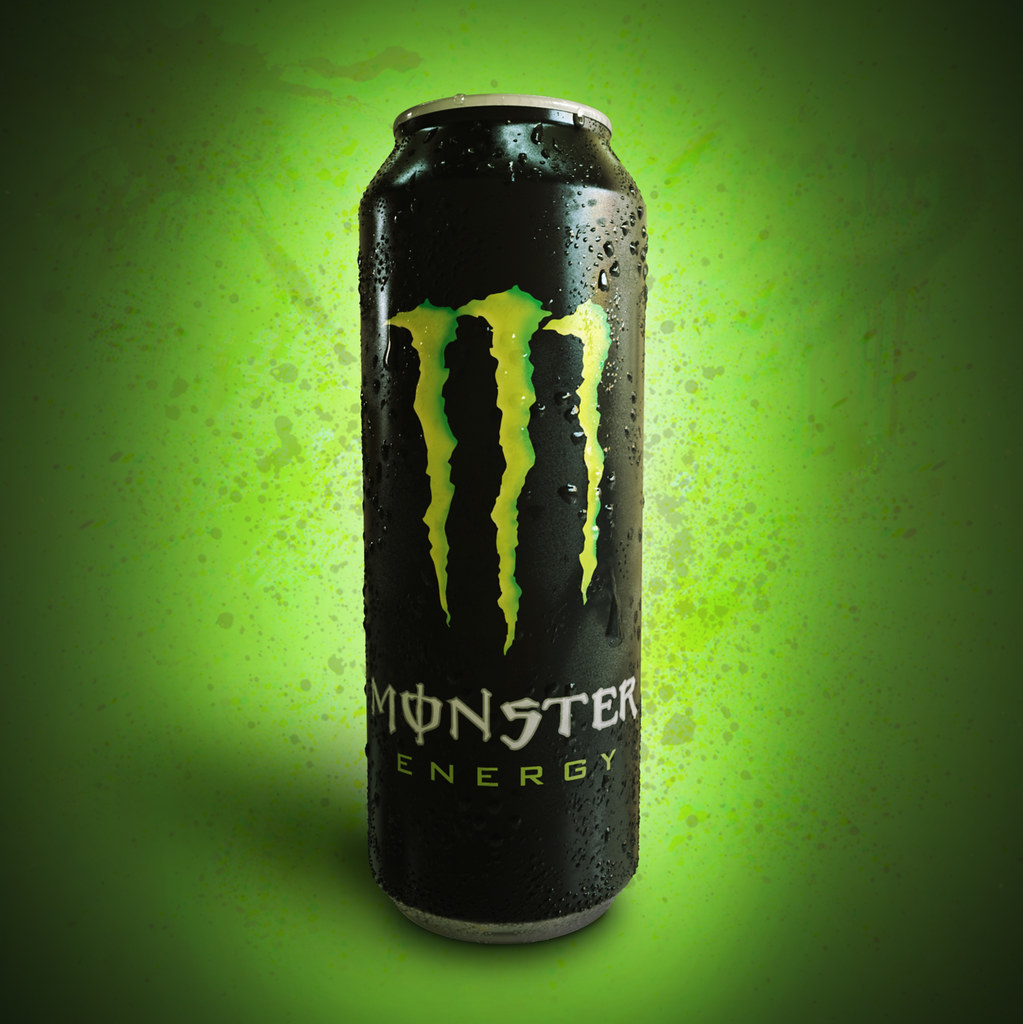 3d monster energy can this is a study to reproduce a 3d