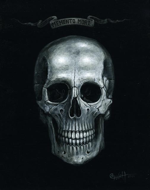 Memento Mori Skull Tattoo Memento mori skullMemento Mori Skull Tattoo