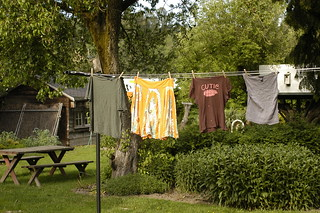 clothes drying on the line | by shauna | glutenfreegirl