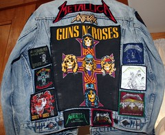 The back of my jean jacket I wore from 1987 or so until about 1992? | by violinsoldier