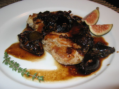 Pork Chops in Balsamic Fig Sauce | by Kevin - Closet Cooking