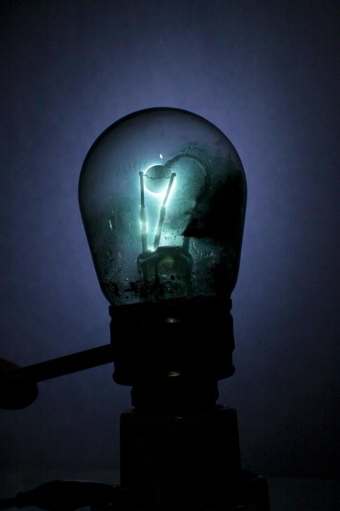 Tungar Bulb Mercury Rectifier Originally Used In Low