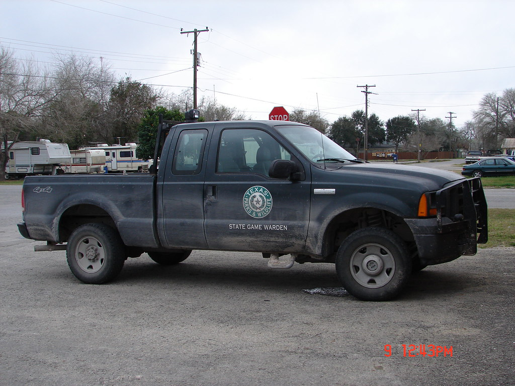 Game Warden Police Car