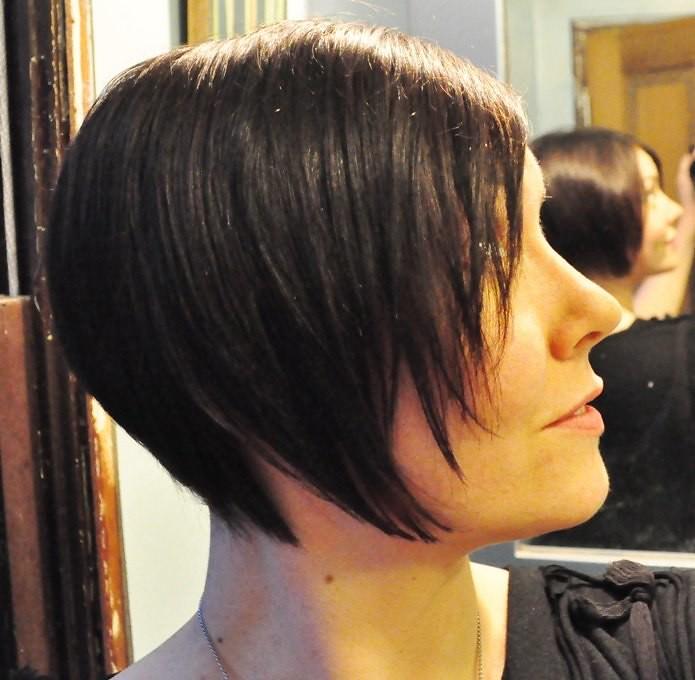 Graduated bob haircut by sylvia bueno fancy salon for R b salon coimbatore