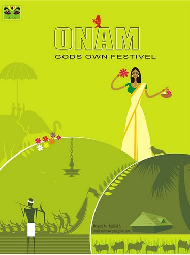 Kelala Illustration- Onam | by unni-mp