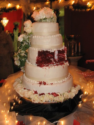 Red Valvet Wedding Cake