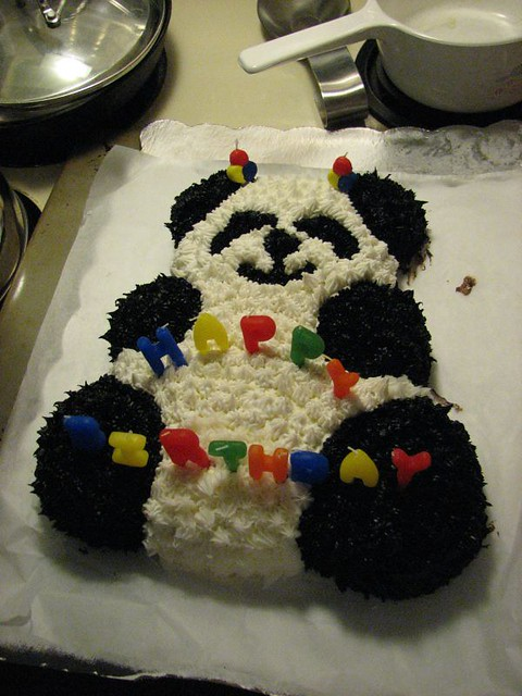 Birthday Cake Teddy Gram