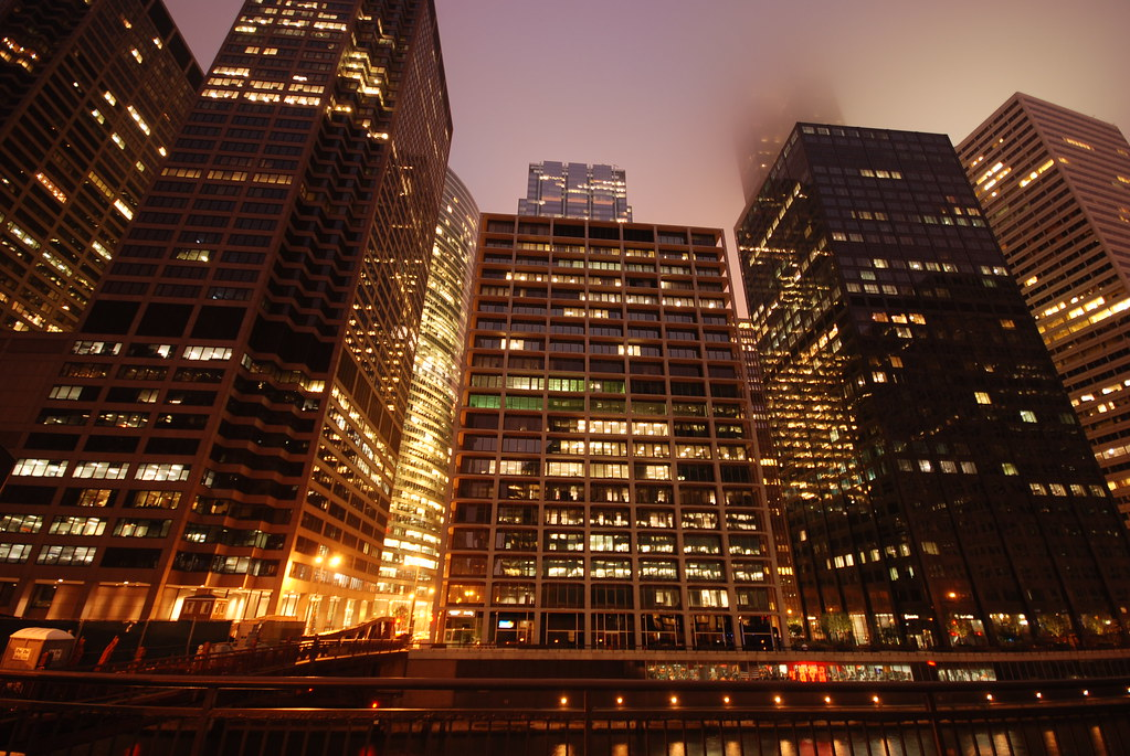 Chicago Financial District  Chicago_bear  Flickr