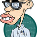 Cartoon Nerd/Geek Illustration