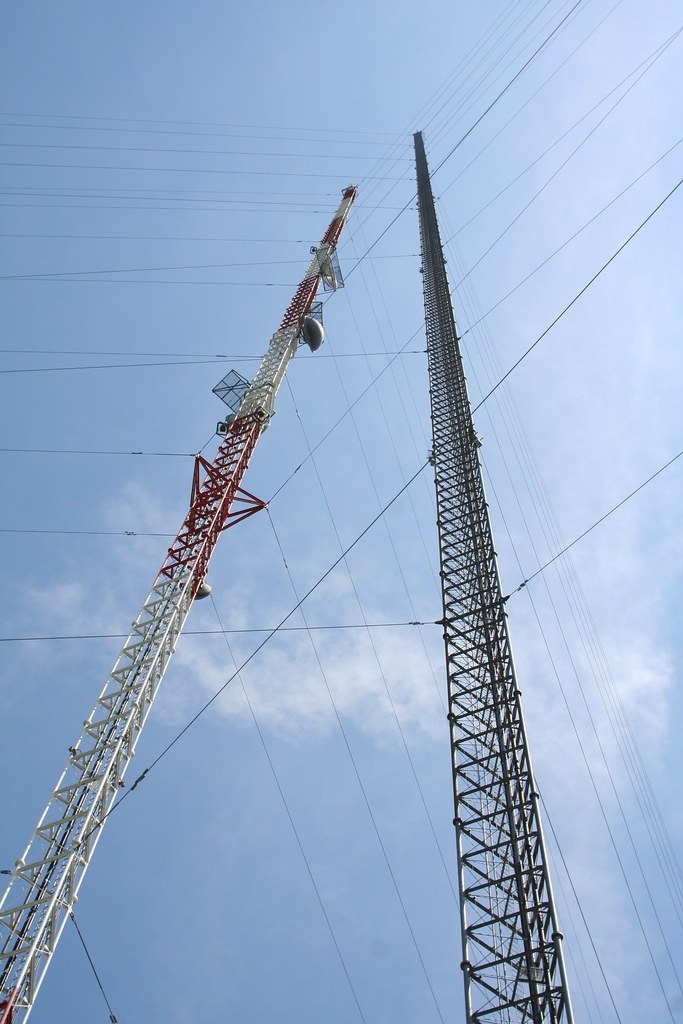 2nd Highest Structure In The Americas Kxjb Tv Mast Chan