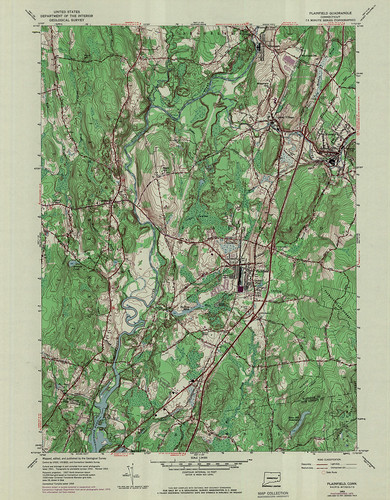 Plainfield Quadrangle 1970 - USGS Topographic Map 1:24,000 | by uconnlibrariesmagic
