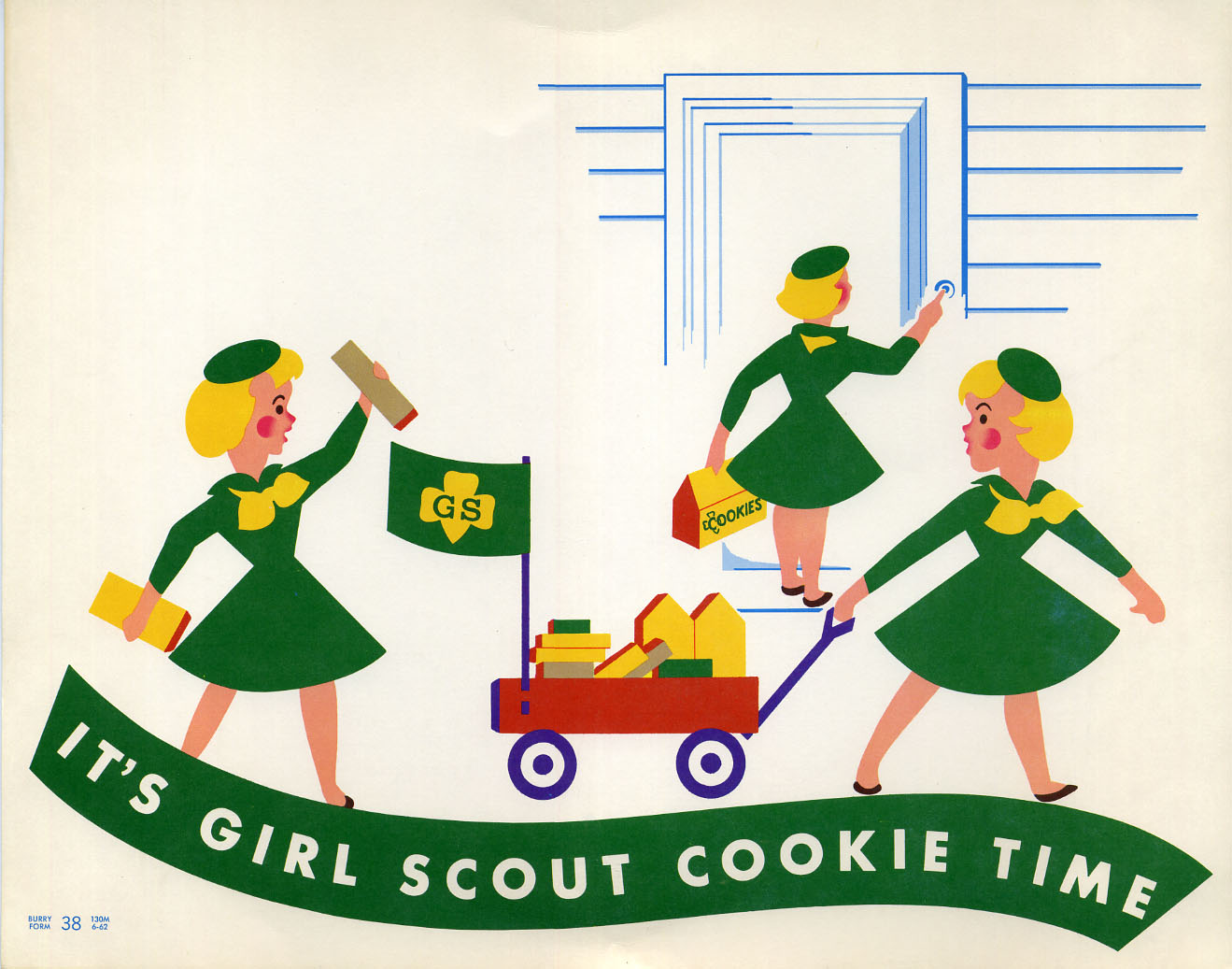 Girl Scout Cookies - date unknown