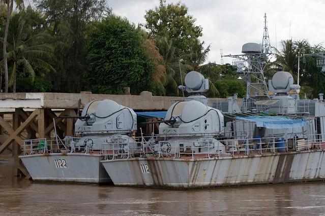 Cambodian Royal Navy River Patrol Boats Cambodian Royal