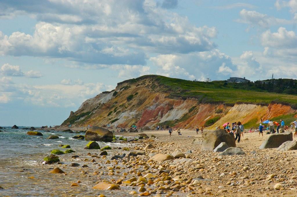 Marthas Vineyard - Moshup and Aquinnah Beaches Photograph