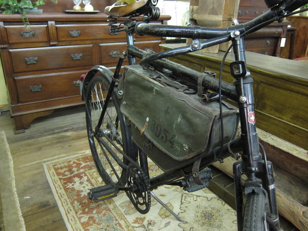 Swiss Army Bike A Swiss Army Bike I Saw At An Antiques