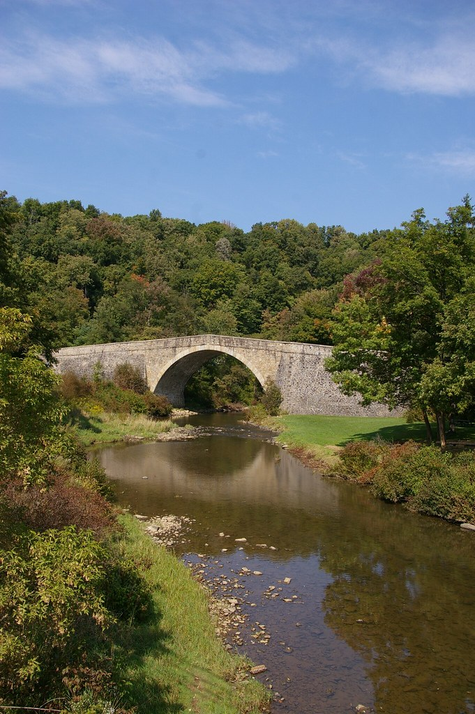 Casselman River Bridge, Grantsville, Maryland   At the ...