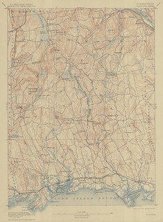 Guilford Sheet 1909 - USGS Topographic 1:62,500 | by uconnlibrariesmagic