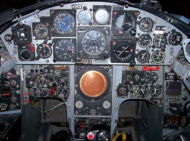 Jobs >> F-4 cockpit | Derin | Flickr