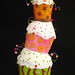 pilha de cupcakes