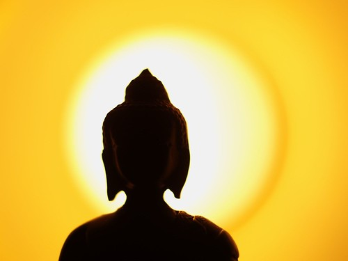Buddha under artifical sun | by Jan Krömer