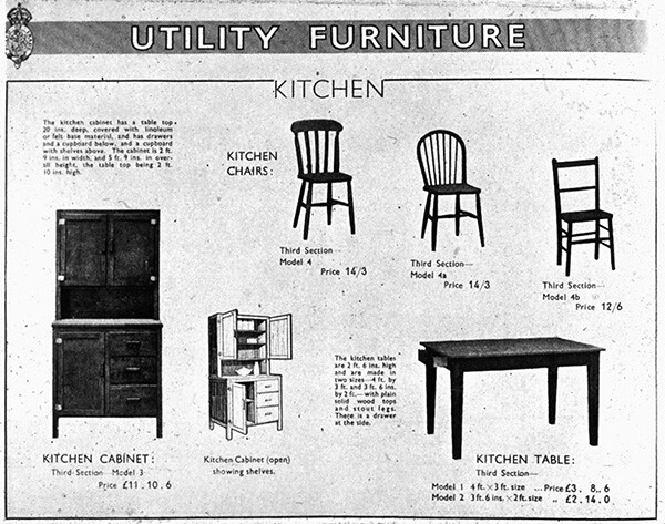 Utility Furniture Catalogue Page From The 1943 Utility Fur Flickr