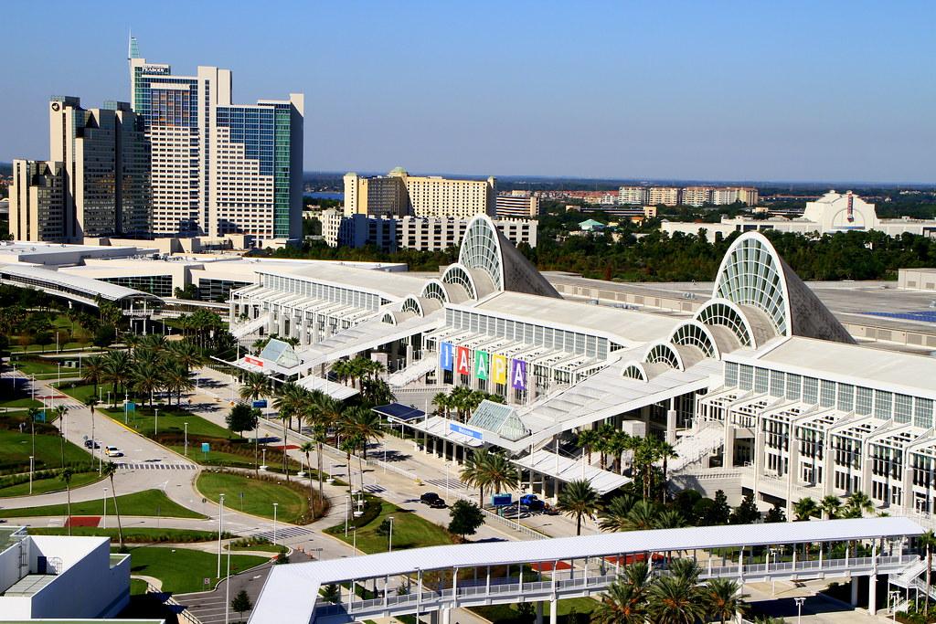 Orange County Convention Center Floor Plan: Actually-- The Orange County