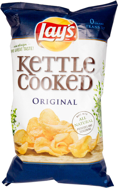 Kettle Cooked Chips ~ Lay s kettle cooked original potato chips flickr photo