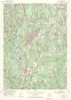 Eastford Quadrangle 1970 - USGS Topographic 1:24,000 | by uconnlibrariesmagic