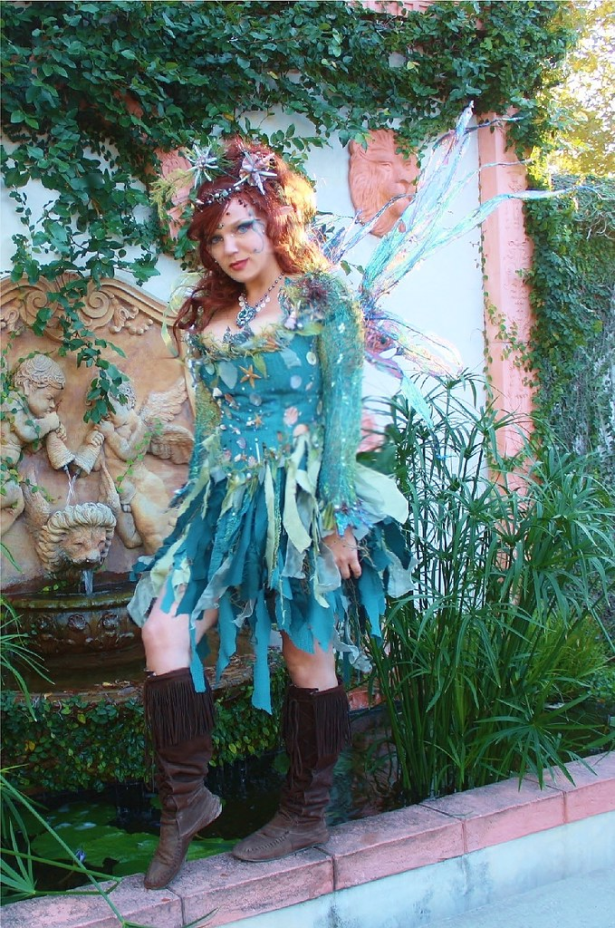 Water Nymph Costume water fairy by the fou...