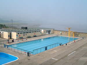 Portishead open air pool near bristol not taken by me - Open air swimming pool portishead ...