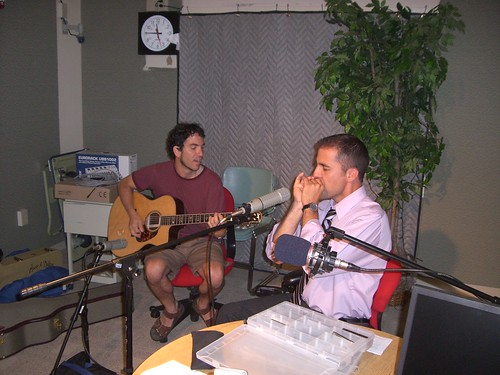 Craig Struble and Fuzz, August 8, 2007 | by WNPR - Connecticut Public Radio