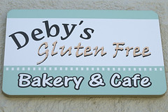 Debys Gluten Free Bakery Sign | by yumcat