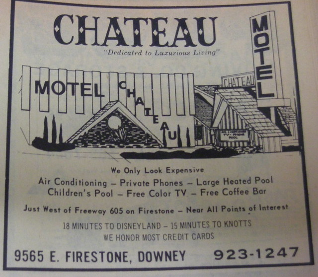 chateau motel telephone directory listing ad city of d flickr