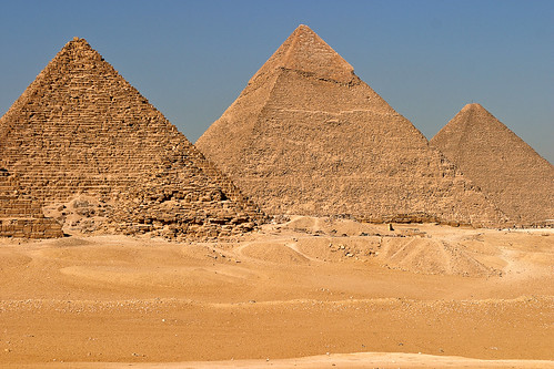 Egypt pyramids 2 | by James Bell Photography