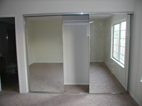 Master Bedroom Mirrored Closet Doors Flickr Photo Sharing