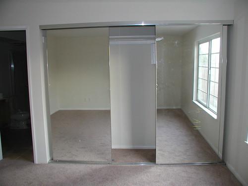 Master bedroom mirrored closet doors flickr photo sharing - Master bedroom closet door ideas ...
