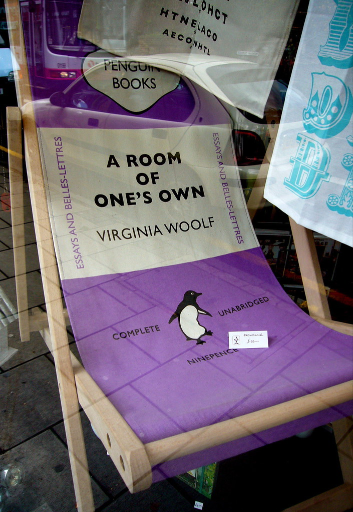 a room of one's own a Become apart of our virginia woolf installation and send an image showing 'a  room of your own.