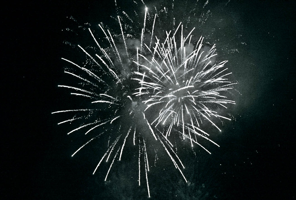 The white night, fireworks by Paolo Margari
