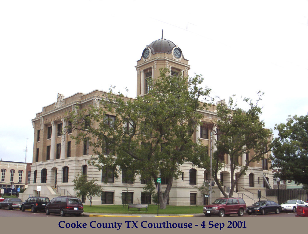 Cooke County Tx Courthouse Gainesville Tx 2001 Flickr