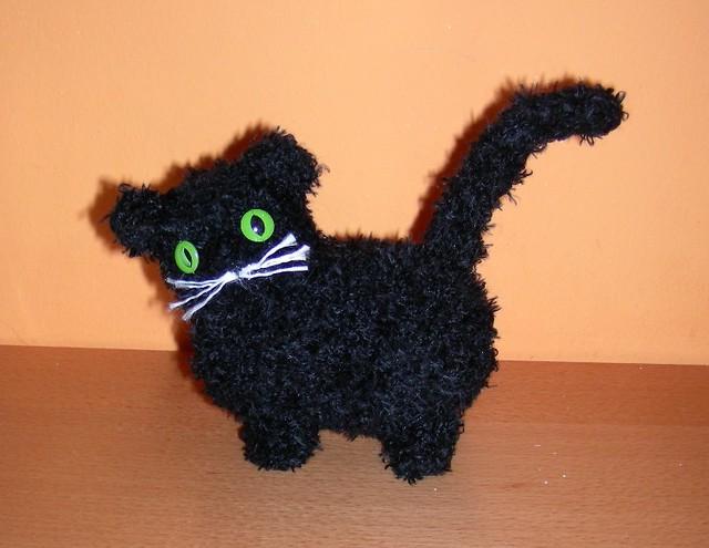 fat amigurumi cat dickeamigurumi katze black fuzzy amiguru flickr. Black Bedroom Furniture Sets. Home Design Ideas