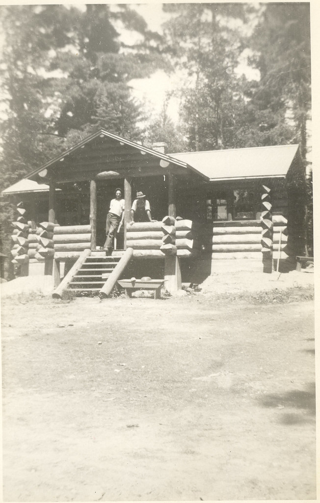 Lake jeanette ccc camp the cold springs cabin 1934 35 for 20x40 cabin