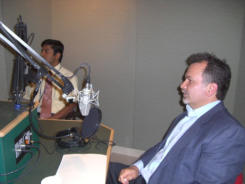Ajit Gopalakrishnan & Carl Guerriere, July 24, 2007. | by WNPR - Connecticut Public Radio