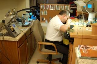 Watch Repair Shop Watch Repair Bench And Tools Boca