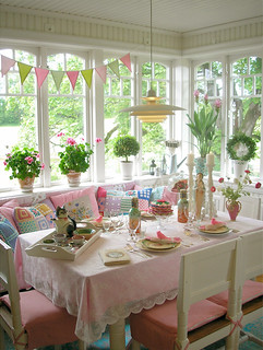 Table setting for the summer | by PinkFriday