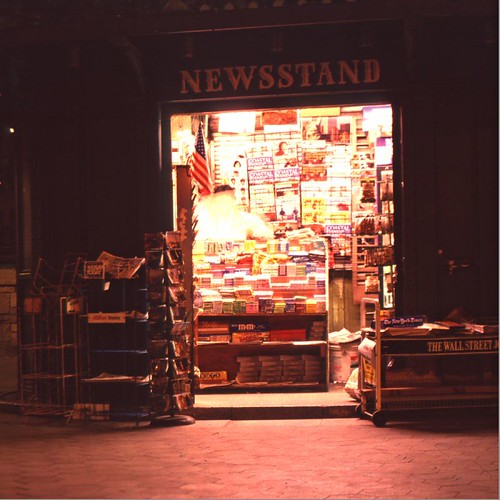 Newsstand At Night | by I am Charley