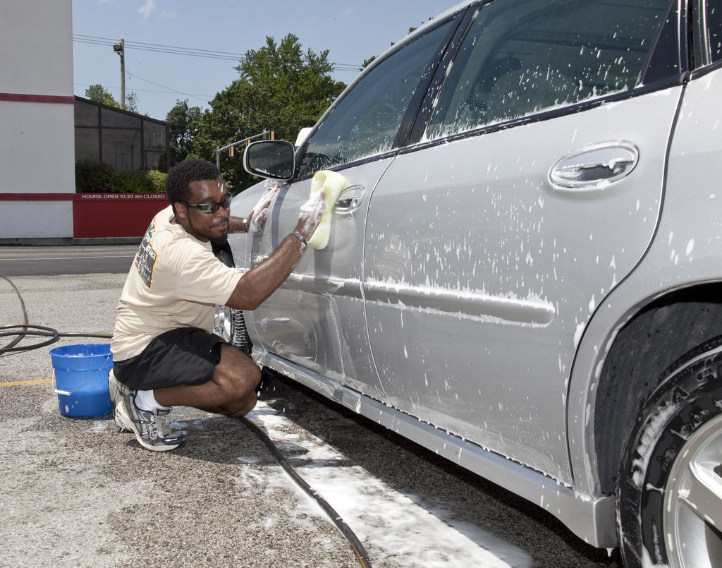 All American Bikini Car Wash Amazon ebony car wash
