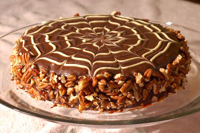 Chocolate Pecan Caramel Torte Recipes — Dishmaps