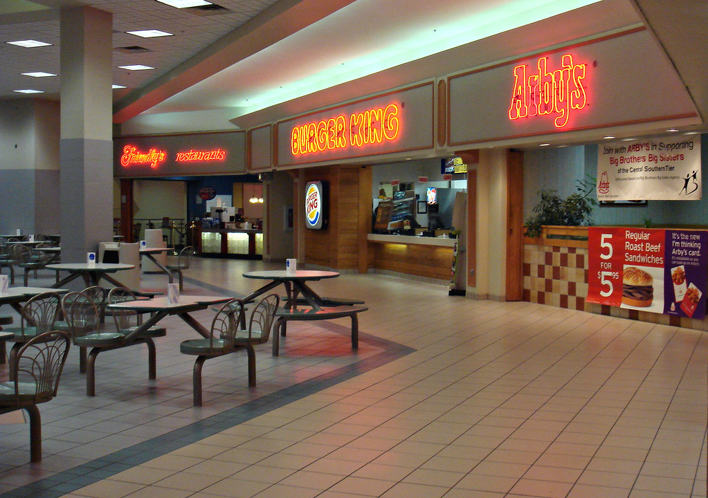 Arnot Mall Food Court