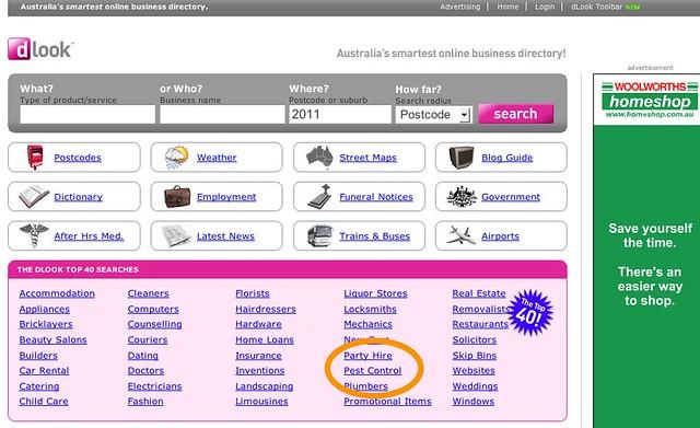 Consider a directory businss